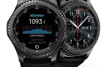 Samsung Gear S3 Frontier specs